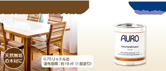 自然塗料 AURO(アウロ) No.130 0.75リットル缶