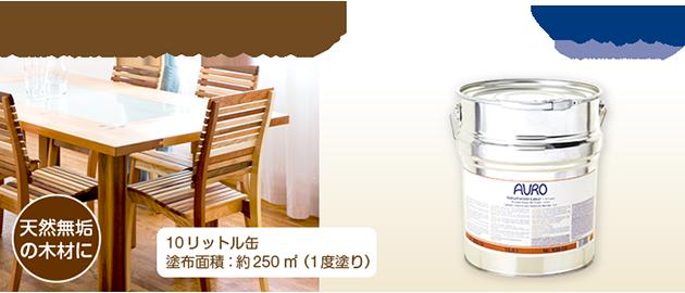 自然塗料 AURO(アウロ) No.130 10リットル缶